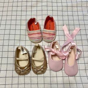 Adorable bundle of baby shoes! Perfect condition!